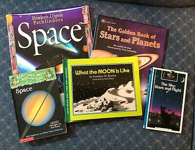 Lot of 5 Books About Space and Our Solar System for Children