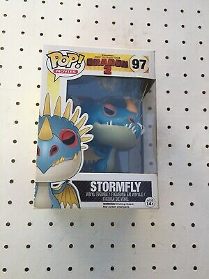 Funko POP! How to Train Your Dragon 2 Stormfly Vinyl Figure #97 Boxed