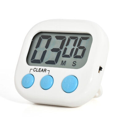 Magnetic Digital Kitchen Timer Large LCD Cooking Count Down Up Clear Loud Alarm