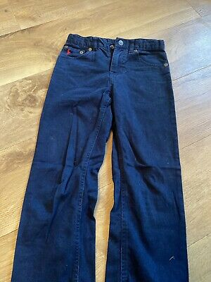 Boys ORIGINAL Polo RALPH LAUREN Navy Belted Trousers/Jeans/Chinos Age 6