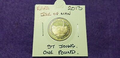 @@@ A Superb Rare Isle Of Man  2013 St Johns One Pound Coin. @@@