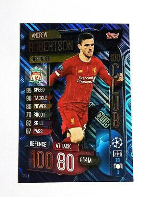 Champions League extra 19//20 2019 2020-clu3-Andrew Robertson-club 100