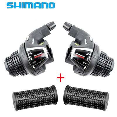 Tourney SL-RS35 Revo Bicycle Shifter Lever MTB Mountain Bike 3*7 Speed w//Grip