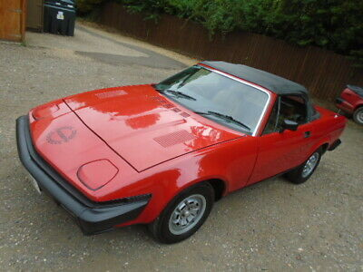Triumph TR7 Convertible 5 speed, 2 owners, 52000 miles from new, great fun car!