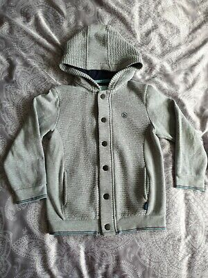 Ted Baker Boys Hoody Age 4-5 years grey jacket jumper designer hoodie sweater
