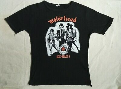 Motorhead T-shirt original rare vintage 1980 screen printed - see description