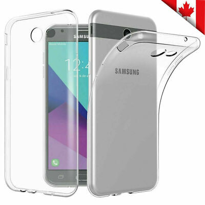 For Samsung Galaxy J3 2018 J3 Prime Soft Gel Clear Transparent Case Cover