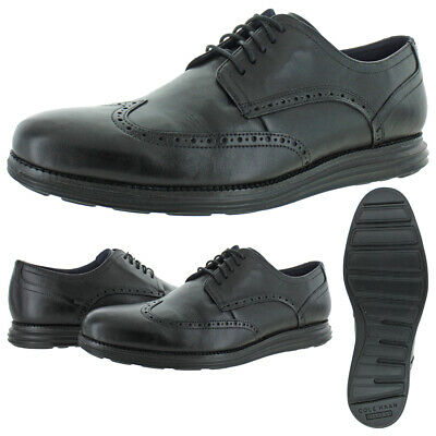 Cole Haan Mens OriginalGrand Leather Wingtip Lace-Up Oxfords Shoes BHFO 2608