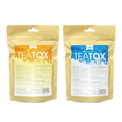 Teatox - Burn Fat Detox Colon Cleaning Slimming Weight Loss Diet Tea 28 day