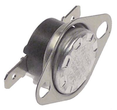 GALANZ Contact Thermostat 140°C 1-polig 1NC Hole Distance 23,50mm 10A