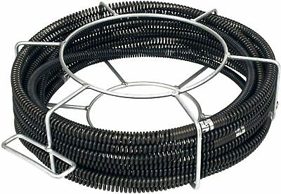 """Steel Dragon Tools 62270 C8 Drain Cleaner Snake Cable 5/8""""x 66' fits RIDGID® K50"""