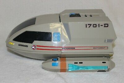 Playmates Star Trek The Next Generation Shuttlecraft Goddard 1992 Vintage