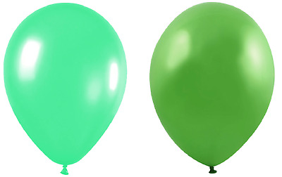 """Lime Green and Black Birthday Party Balloons Multipack Arch 10/"""" Wedding"""
