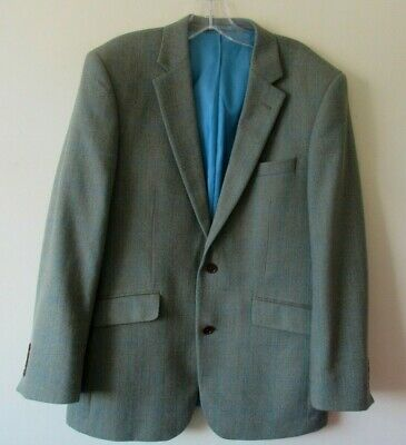 Austin Reed Wool Tweed Balmoral Jacket 42 S 45 00 Picclick Uk