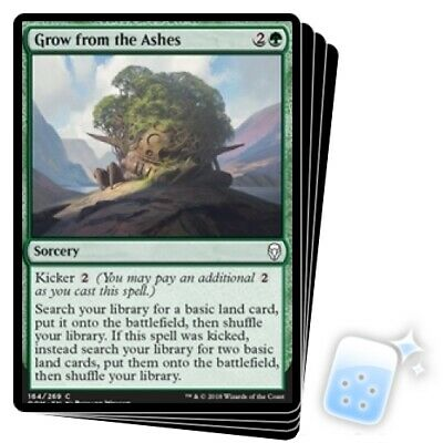 4x Dominaria Grow From the Ashes x4 Near Mint