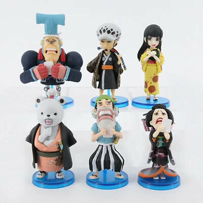 OP One Piece World Collectable Figure Wano countries 4 All 6 types set