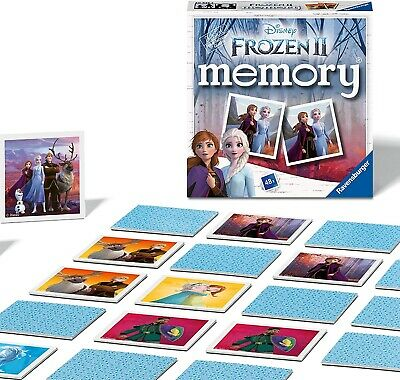 Frozen 2 Memory Family Traditional Board Games Kids Childrens Indoor Gift Toys