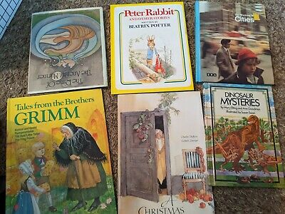 Story Time Assorted Bundle / Lot of 6 Books for Kids/Toddlers/Daycare MIX #150