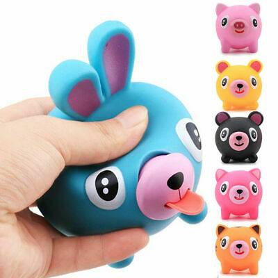 Mcottage Talking Animal Jabber Ball Tongue Out Stress Relieve Soft Ball Toy for Kids Adult