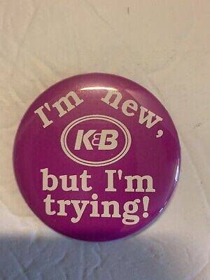 K /& B enamel pin New Orleans Drug Store Pharmacy Baton Rouge NOLA BR Louisiana