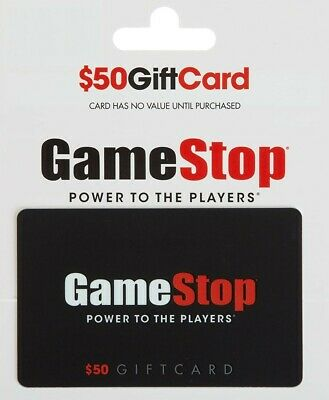 GAMESTOP GIFT CARD $50 fast shipping new - $75.00 | PicClick