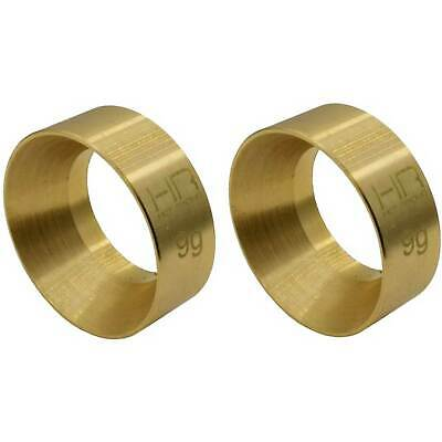 Hot Racing 9g Brass KMC Machete Wheel Weights SCX24
