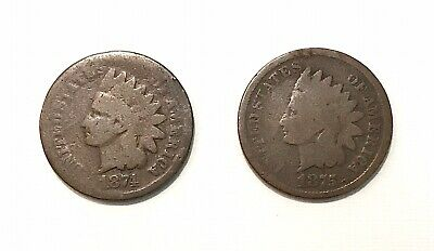 1875 Indian Cent VG Uncertified