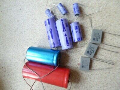 Many Various Value Assorted Electrolytic Capacitors 100 Pieces Elkos