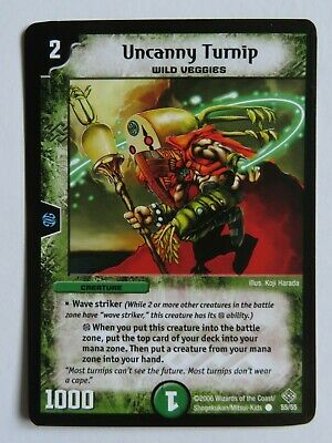 Duel Masters NECRODRAGON ZALVA 44//55  Mint and Never Played