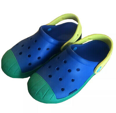 Crocs Kids Bayaband Printed Clog 205809-309 Blue.Green,CHOICE SZ NWT