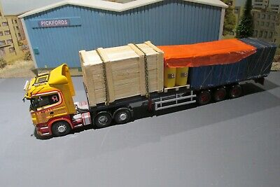 Not The Lorry NEW Corgi 1.50 scale Blue Sheeted Crate Heavy Haulage Load Only