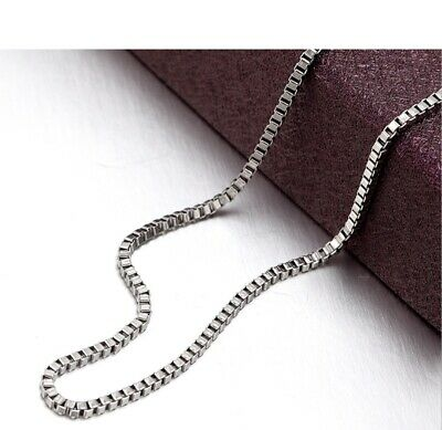 925 Sterling Silver Tarnish-Resistant 1.2mm Thin Snake Chain Necklace 16 ~30inch