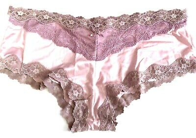 Maidenform Scalloped Lace-Trim Cheeky Hipster 40823 Pink 2XL//9