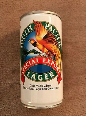 PAPUA NEW GUINEA South Pacific Brew EXPORT bird animal beer label C2244 054
