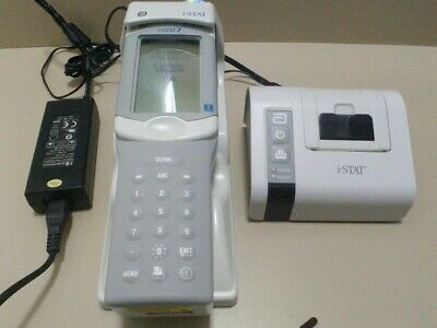 Abbott i-STAT 1 300-G portable clinical blood analyser CLEW A41 iSTAT