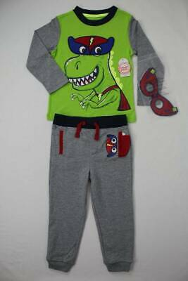 Boys 2T 3T Outfit Giraffe Pocket Mock Layer Tee /& Animal Pattern Jogger Pant NWT