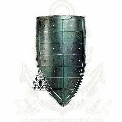Collectible Hand Forged COSPLAY ARMOR DESIGNER Steel Layered Medieval Sheild SCA