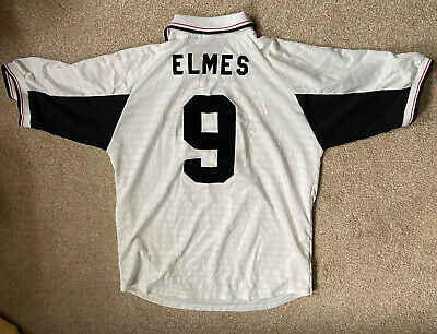 Vintage Hereford United Fc Home Xl Size 42 44 Rob Elmes No 9 02 04 39 00 Picclick Uk