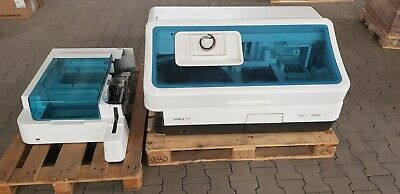 Roche cobas E411 rack Immunology analyser Refurbished calibrated Full set VG.
