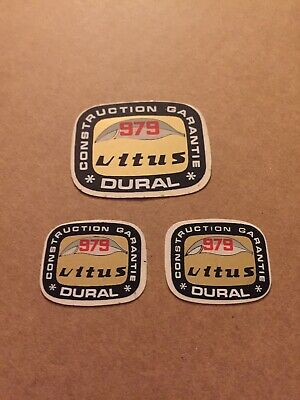 VITUS OVOID Tubing Dural White 972 Frame Fork Decals Stickers Re-sprays Gift