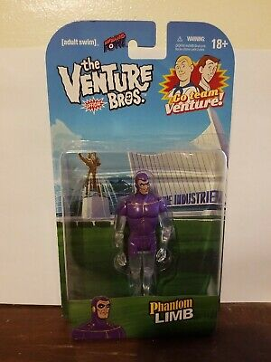 Phantom Limb 3 3//4-Inch Action Figure New and Unopened adult swim Venture Bros