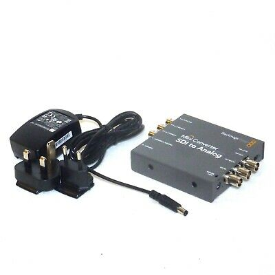 Blackmagic Design Mini Converter Sdi To Analog S Video Digital Bnc Analogue 1080 89 00 Picclick Uk