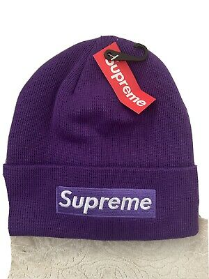 supreme beanie black brand new great for a gift or Christmas