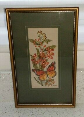 Butterfly Qty Cash/'s Fine Woven Silk Bookmarks ~ Get Well