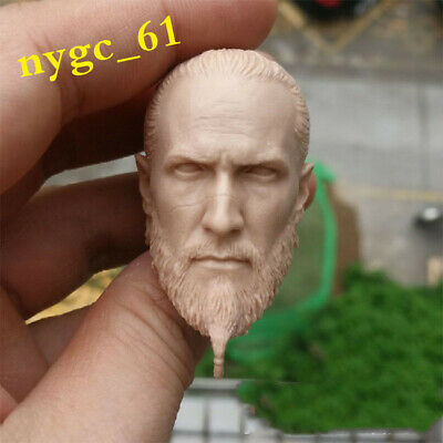 DIY Unpainted 1//6th Barack Obama Head Carving Fit 12/'/' Male Action Figure Body