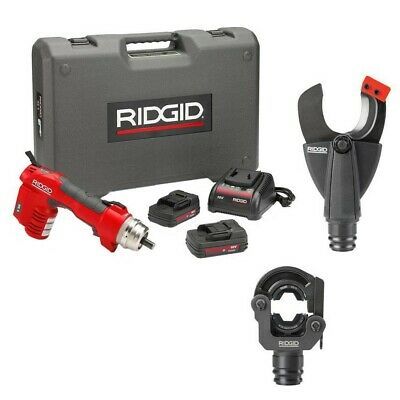 RIDGID RE-6 Electrical Tool Kit with Cutter & Crimp Head