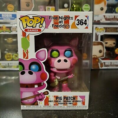Funko Pop Pop Games Five Nights at Freddy/'s Pig Patch #364