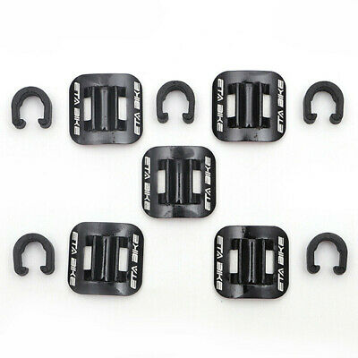 Bike Brake Cable Bicycle Buckle Line Guide Tubing Fixed Clamp C Shape Cords