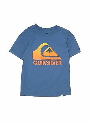 Boy/'s Quiksilver vipor skills L BTO surf skate T shirt large brown LG youth