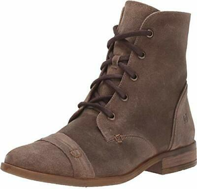 Born Dunay Ankle Combat Boots Avfola Distressed Suede F72702 Size 8.5 NEW